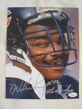 William Perry Chicago Bears Signed The Fridge 11x14 Photo - JSA COA