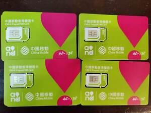 New CMHK!+852_ activated Hong Kong SIM card - CHINA MOBILE roaming phone, taobao