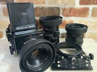 [N MINT-] Mamiya RB67 PRO SD w/ 127mm, 150mm, 250mm 3 Lens + more  from JAPAN