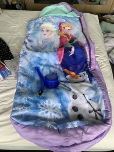 Disney Frozen Inflatable Ready bed Camping Sleepover