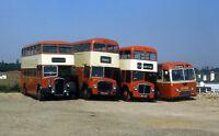 S & M coaches 4 buses near benfleet 76 Essex 6x4 Quality Bus Photo