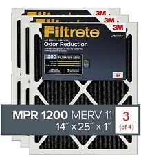3mFiltrete 14x25x1 Filter Mpr1200 Allergen Defense Odor Reduction (3 of 4 pack)