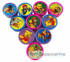 20ct Disney Winnie The Pooh Stamps Stampers selft- ink toy Party Favors