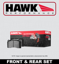 [FRONT + REAR SET] HAWK Performance Street 5.0 Brake Pads HPP51727 [w/BREMBO]