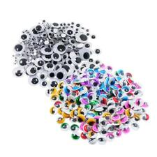 476pcs Assorted Color & Size Self Adhesive Sticky Wiggle Googly Eyes Toys