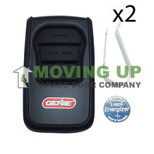 Genie GM3T-BX Garage Door Opener Remote Replaces ALL Genie Remotes QTY 2