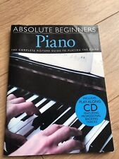 Absolute Beginners Piano Book With CD
