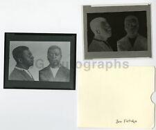 """""""Ben Fletcher"""" Vintage Mugshot & Negative Early-Mid 1900s (Printed Later)"""