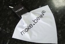 Sony DSLR / Camcorder Microfibre Optical Cleaning Cloth & Storage Pouch Keyring