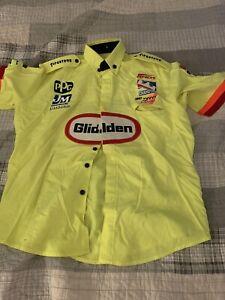 Tony Stewart Indycar Menards Crew Shirt Size Large