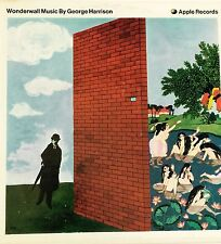 GEORGE HARRISON WONDERWALL LP THE BEATLES 1968 APPLE ORIGINAL RARE WITH INSERT