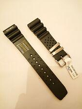 Bracelet/strap/armband/ 22mm morellato pvc bomber noir black water resistant