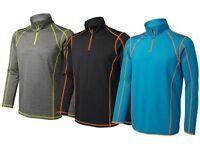 Crivit Herren Funktionsshirt Ski Shirt Langarmshirt atmungsaktiv Trikot Sport