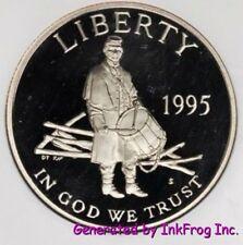 1995 S Civil War Half Dollar Deep Cameo Gem Proof