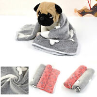 Winter Pet Dog Cat Puppy Bed Rest Blanket Breathable Cushion Warm Sleep Mat CH