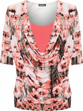 Polyester Floral T-Shirts for Women