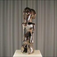 66501) Afrikanische Holz Figur Basikasingo Kongo Afrika KUNST