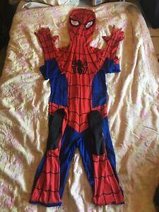 Spiderman Adult Cosplay Costume Size Medium