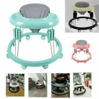 Baby Walker Activity Toddler First Step Push Along Walking Bouncer Foldable CA