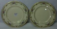 "ROYAL DOULTON china JULIET H5077 pattern Salad Plate - Set of Two (2) - 8"""