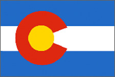 Rumbling Pride Colorado Flag 6X9 Made In Usa