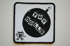 Toy Dolls (SP1075) Sewn Patch Punk Rock Sex Pistols Adicts Social Distortion