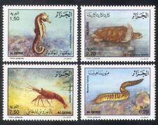 Algeria 1992 Turtle/Seahorse/Eel/Lobster/Marine/Nature/Environment 4v set n39269
