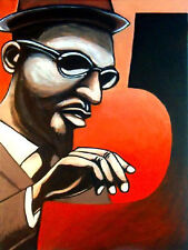 THELONIOUS MONK PRINT poster jazz piano blue note monk's dream cd john coltrane