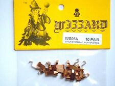 10 Pair Wizzard Storm and Patriot Slot Car Replacement Pickup Shoes