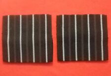 RAF Greatcoat Group Captain Rank Slides 75mm Wide Fit