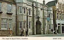 Lincolnshire -Grantham, The Angel & Royal Hotel - Postcard Franked 1980