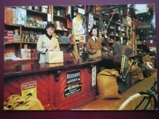 POSTCARD NORTHUMBERLAND BEAMISH MUSUEUM - INTERIOR OF HARDWARE STORE