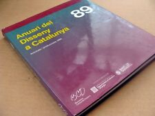 105) ANUARI DEL DISSENY A CATALUNYA 1989 (Annuario) in spagnolo