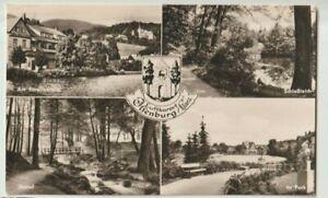 Ilsenburg, Harz, Luftkurort, alte s.w. DDR-Ansichtskarte vom 14.09.1966,4-Motive