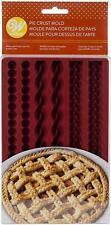 2103-4358 - Wilton Silicone Bakeware, 6 Cavity Decorative Pie Crust Mold