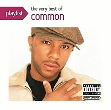 The Common, DJ Soul - Playlist: The Very Best of Common [New CD]  SEALED