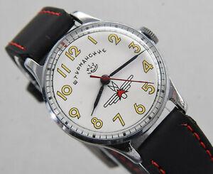 POLJOT STURMANSKIE Gagarin 1MChZ Pobeda CCCP USSR Russian Watch 60er CCCP Wostok