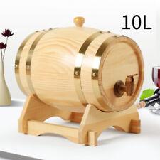10L Weinfass Schnapsfass Eichenfass Holzfass Wein Whisky Bierfass Weinfässchen
