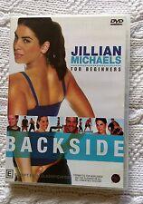 JILLIAN MICHAELS FORBEGINNERS BACK SIDE (DVD) R-4, LIKE NEW, FREE POAT AUS-WIDE