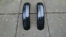 CYCLE WINGS UNIVERSAL FIBREGLASS KIT CAR BLACK PAIR PROJECT 5.25 inch wide