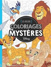 Disney Puzzle Hidden Images Animals Adult Colouring Book French The Lion King