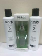 NIOXIN SYSTEM 2 CLEANSER 10.1oz (2pack) with SCALP DENSITY RESTORATION TREATMENT