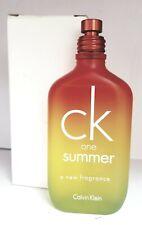 Ck One Summer 2007 Tester 3.3/3.4oz. Edt Spray For Unisex New In Tester Box