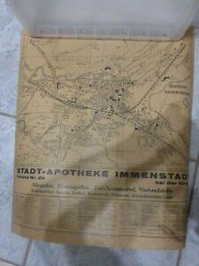 selten , Immenstadt im Allgäu Stadtplan und Umgebung zwischen 1933 und 1944