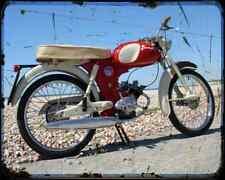 Bsa Beagle 02 A4 Metal Sign Motorbike Vintage Aged