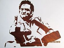 Johnny Cash Stencil/Template Reusable 10 mil Mylar