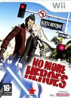 No More Heroes Nintendo Wii NEW and Sealed, UK version NOT Import Or Budget