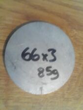 Stainless Steel Blank Disc 66mm x 3mm