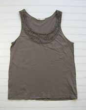 Old Navy Used Taupe Tank Top Medium