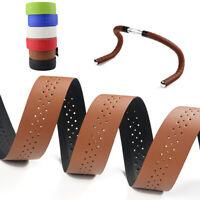 Handlebar Tape Mesh Belt Bike Accessory Cycling Supply PU Leather Breathable